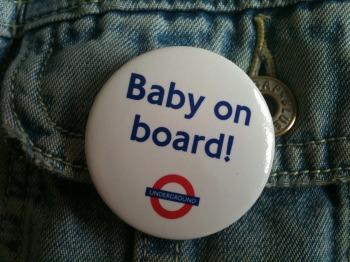 Baby on board - TfL badge
